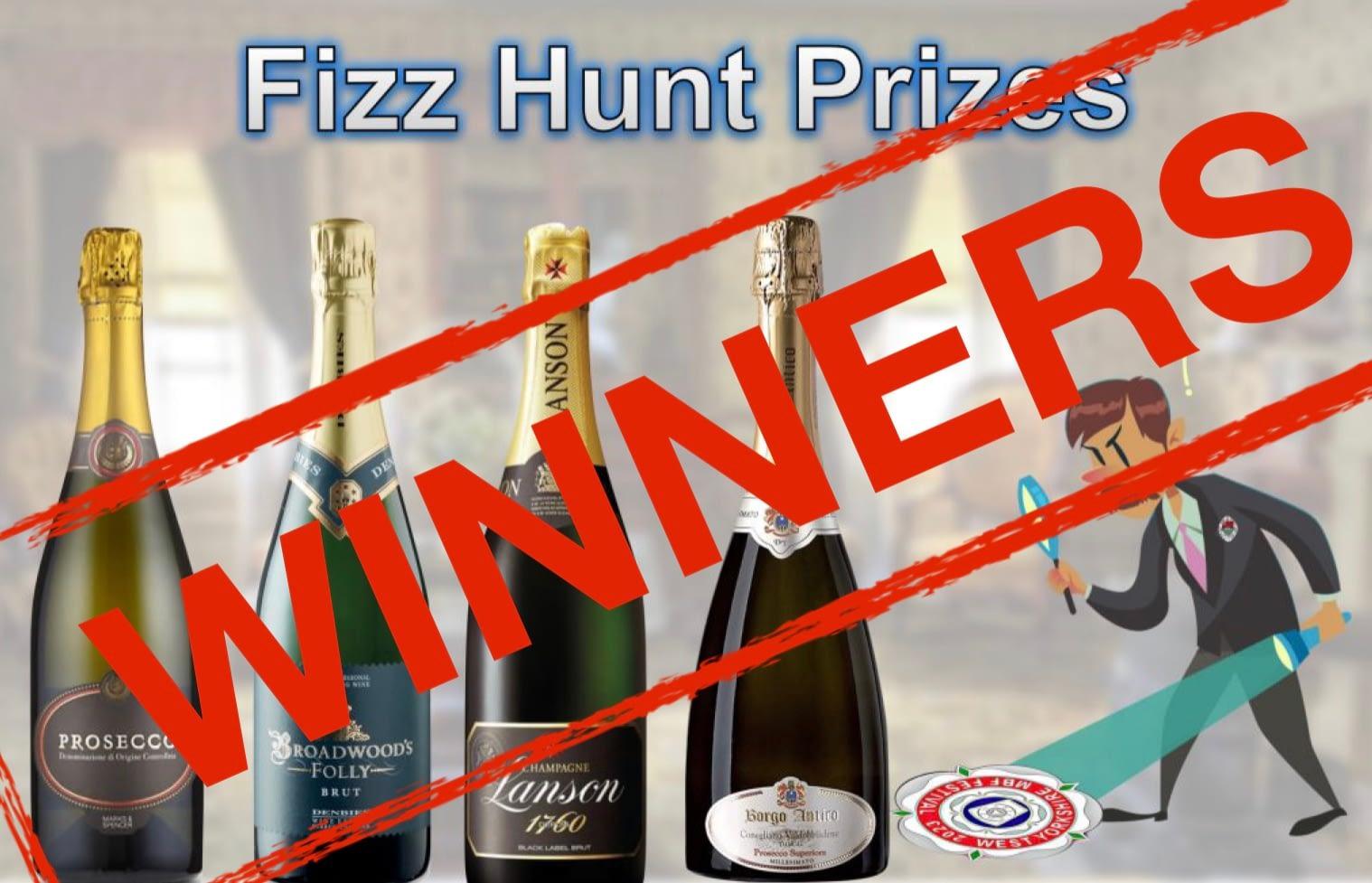 The Great Provincial Fizz Hunt Winners